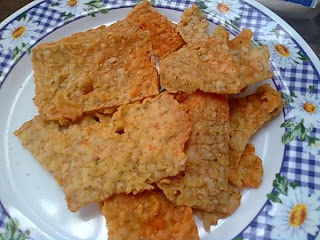 Keripik Tempe Renyah, salah satu Resep Makan Ringan lezat