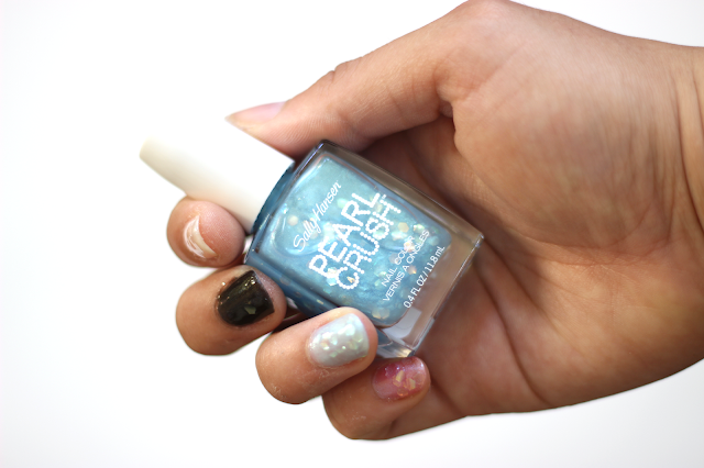 Sally Hansen Pearl Crush Nail Colors in Rainbow Fish