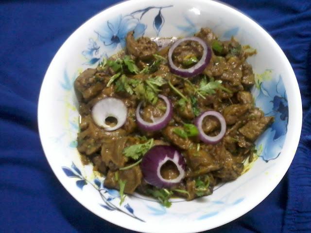 Chicken Liver Curry