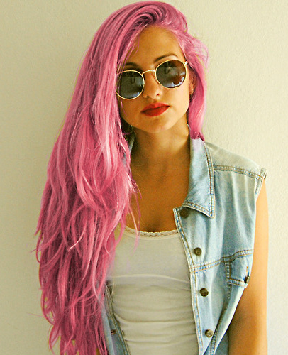 pelo+rosa+fuerte+nuevo+look