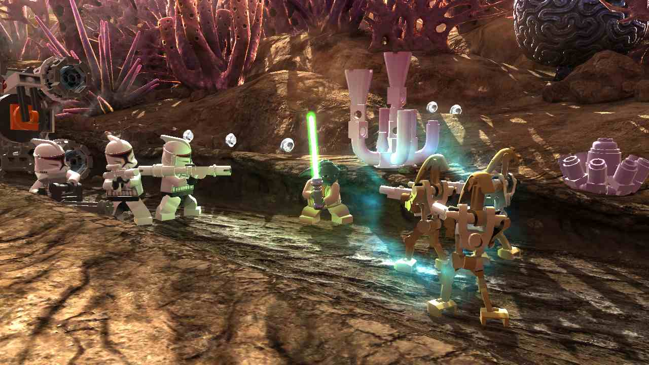 Subspace Reviews: Lego Star Wars III: The Clone Wars review