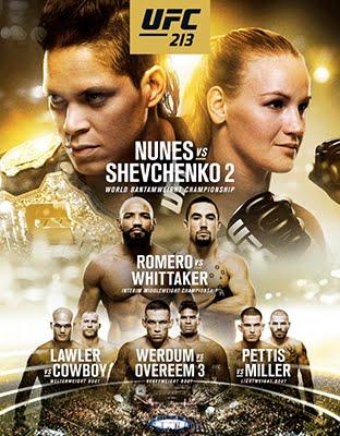 Ver UFC 213 Nunes vs Shevchenko 2 en VIVO