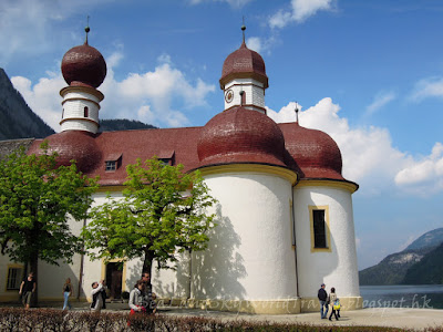德國, 國王湖, Konigssee, chapel of batholoma