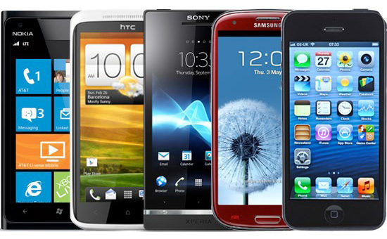3d Telefon Android Samsung Galaxy iphone nokia iphone htc sony