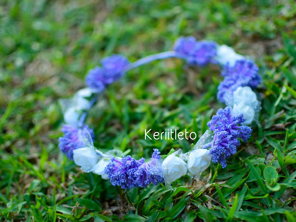 Shop : Flower Crown | Purple