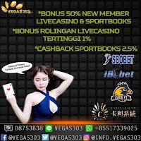 Vegas303 Situs Agen Casino Online Terpercaya