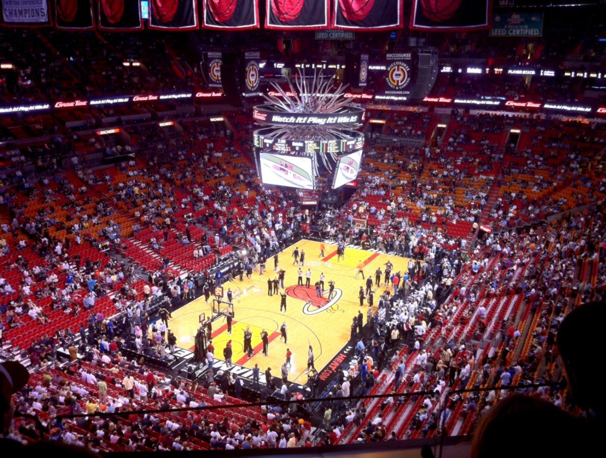 Inside Arena  Miami Heat