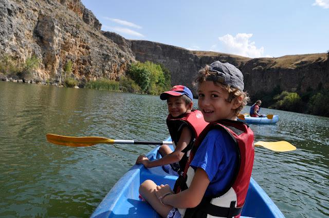 Navafría: Turismo activo en familia