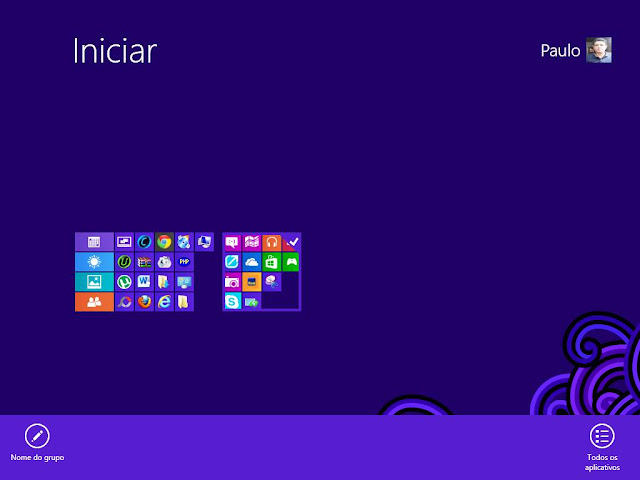 Grupos de Aplicativos Windows 8 do Paulo Rocha
