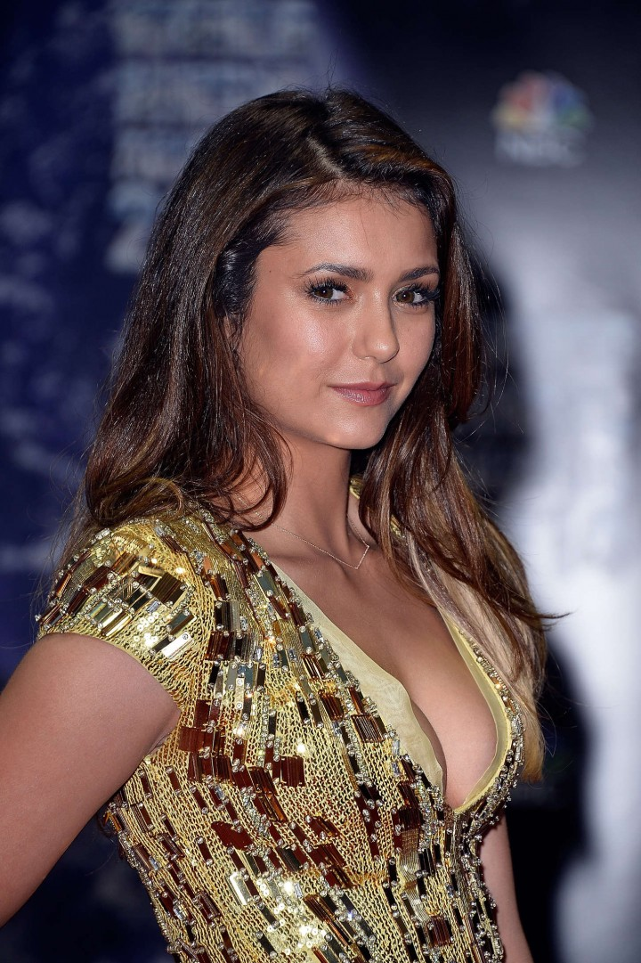 Nina Dobrev at the 2014 World Music Awards