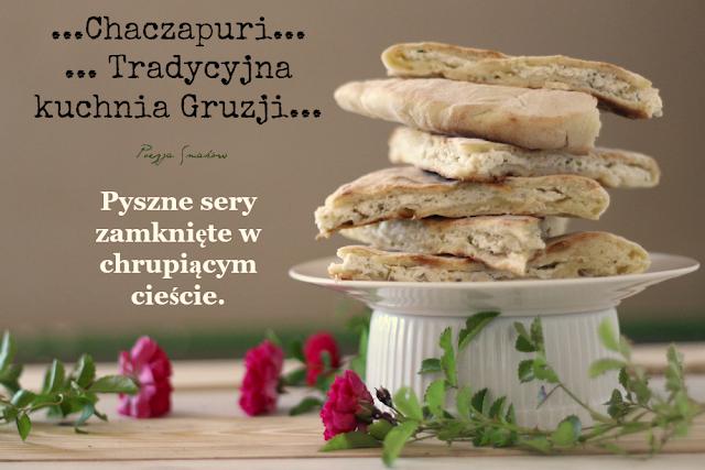 Chaczapuri - gruzińska pizza z patelni (na szybko, bez drożdży).