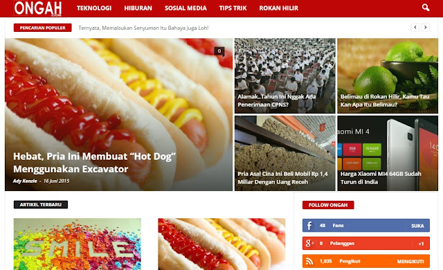 Ongah.com Situs Media Online Baru di Rokan Hilir