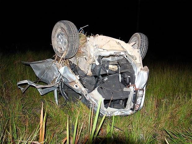 Segundo PRF, motorista do carro onde estava a estudante era menor de idade. (Foto: Site Radar 64)