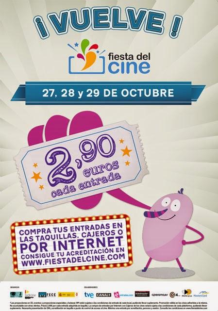 Fiesta del Cine - Octubre 2014