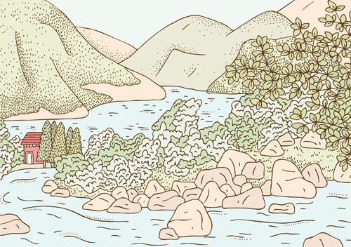 Emma Margaret Illustration Postcards from Norway 2015