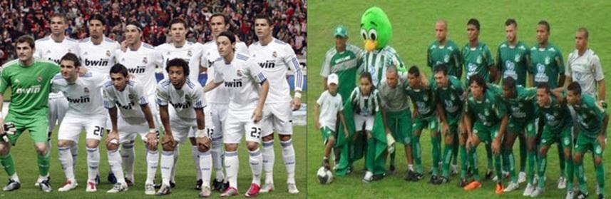América x Real Madrid no Arruda?