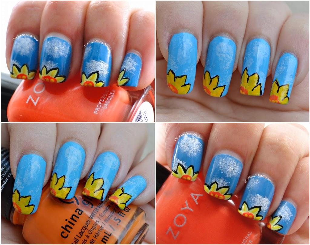Daffodil Nail Art