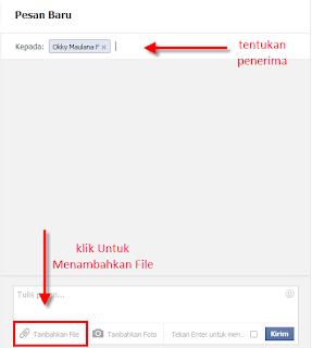 Silahkan isi kolom Kepada dengan nama teman FB yang akan menerima lagu / file anda.