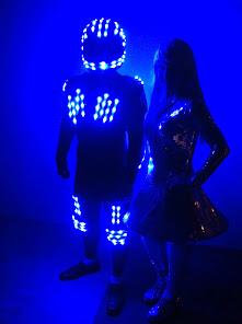 Personajes LED