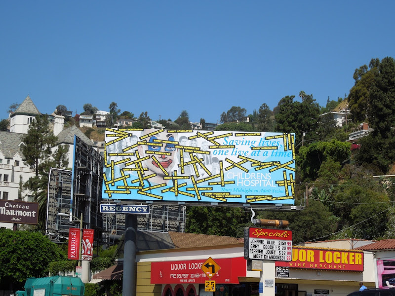 Childrens Hospital season 4 Emmy billboard