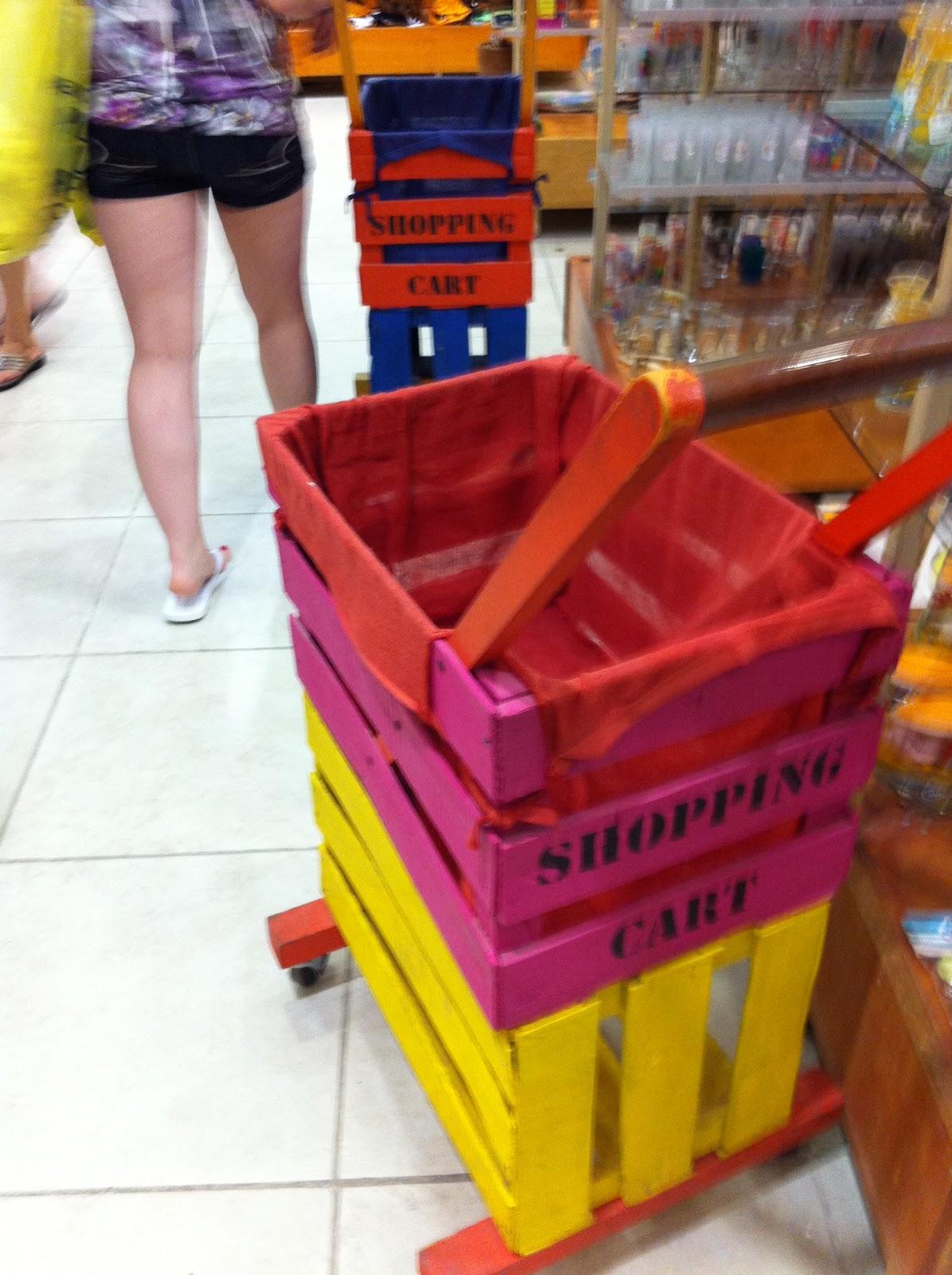 NinjaDiva: Diy - Shopping Cart