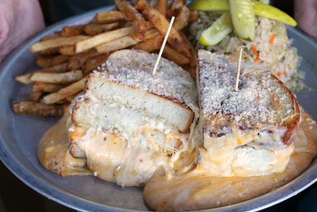 The Melt Challenge- this platter of ooey, gooey cheesiness was once featured on the Travel Channel's Man vs Food.