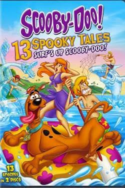 Capa Scooby Doo! 13 Contos Assustadores Dia de Surf Torrent Dublado