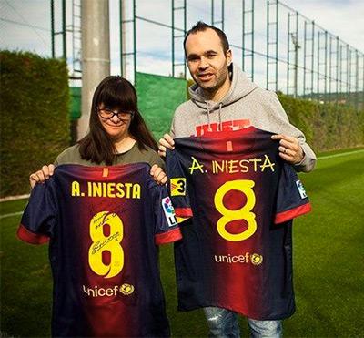Anna Vives camisas FC Barcelona tipografada