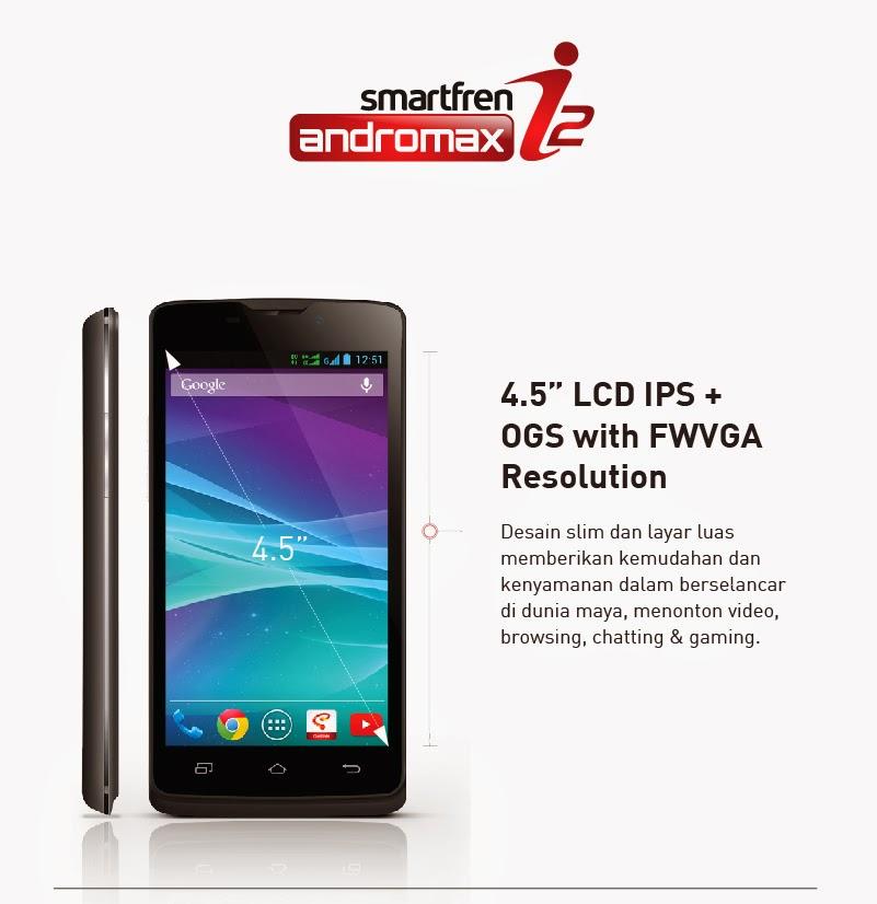 Review Spesifikasi dan Harga Smartfren Andromax I2