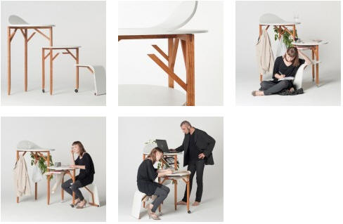 Cute Office Furniture Throughout Portable Office Furniture Stratified By Anna And Isabelle Lohn Lohncof