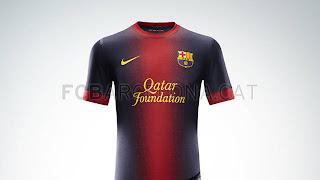 seragam barcelona terbaru 2012 2013