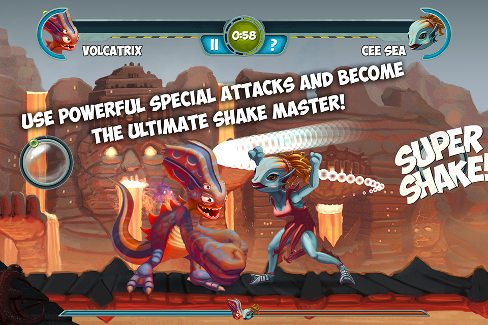 Monster Shake v1.2 [Full/Unlocked] APK+DATA