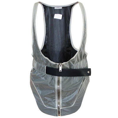 paco rabanne clear plastic vest ss14 runway 2014