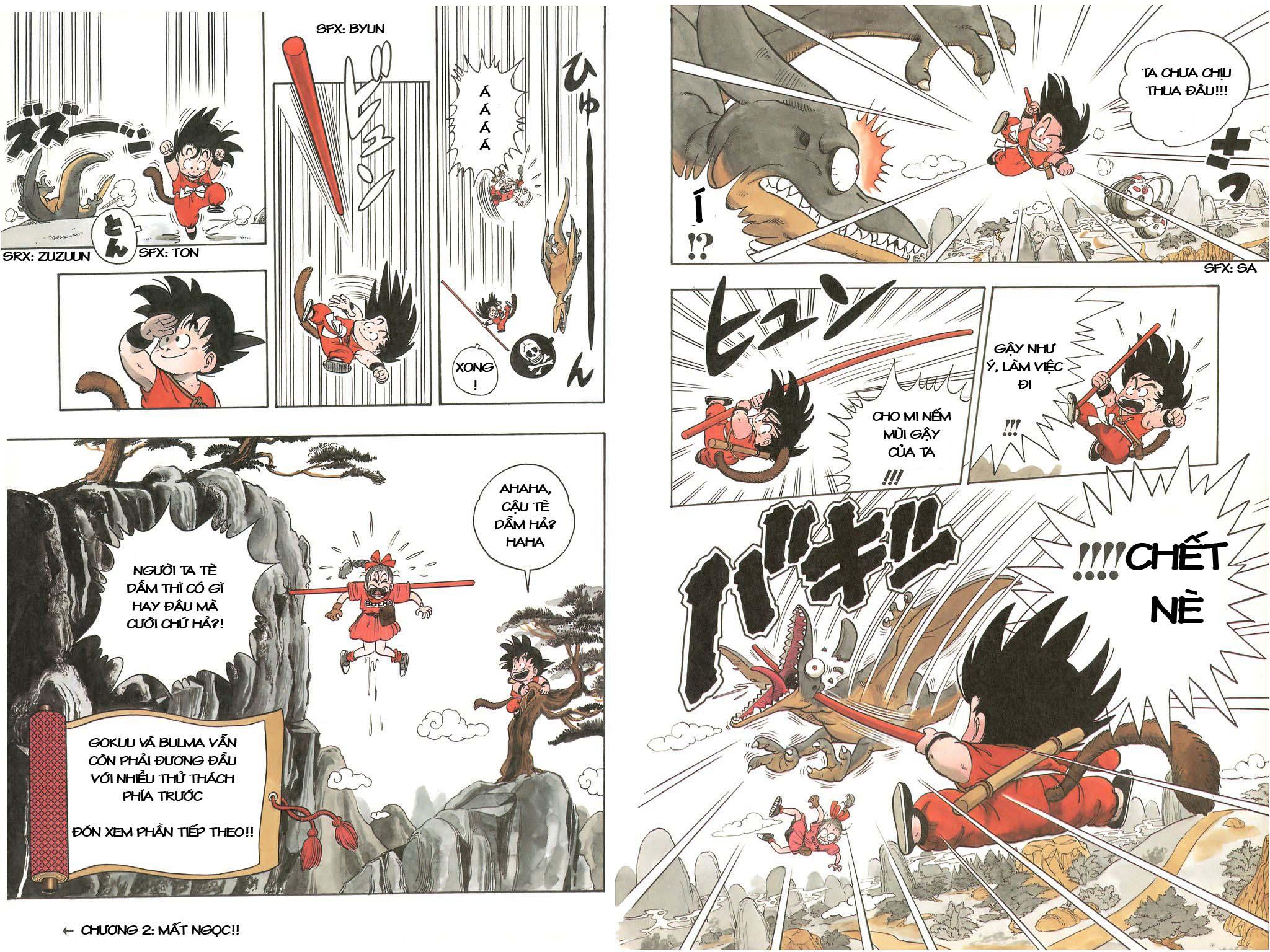 xem truyen moi - Dragon Ball Bản Vip - Bản Đẹp Nguyên Gốc Chap 1