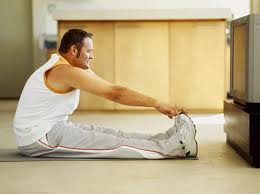 a man stretching used in Carlie M.A. Cullen's guest post on J.R. Wagner's Author blog. Post called The importance of Writing Exercises