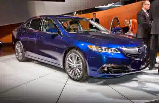 2015 Acura TLX Sedan Release Date
