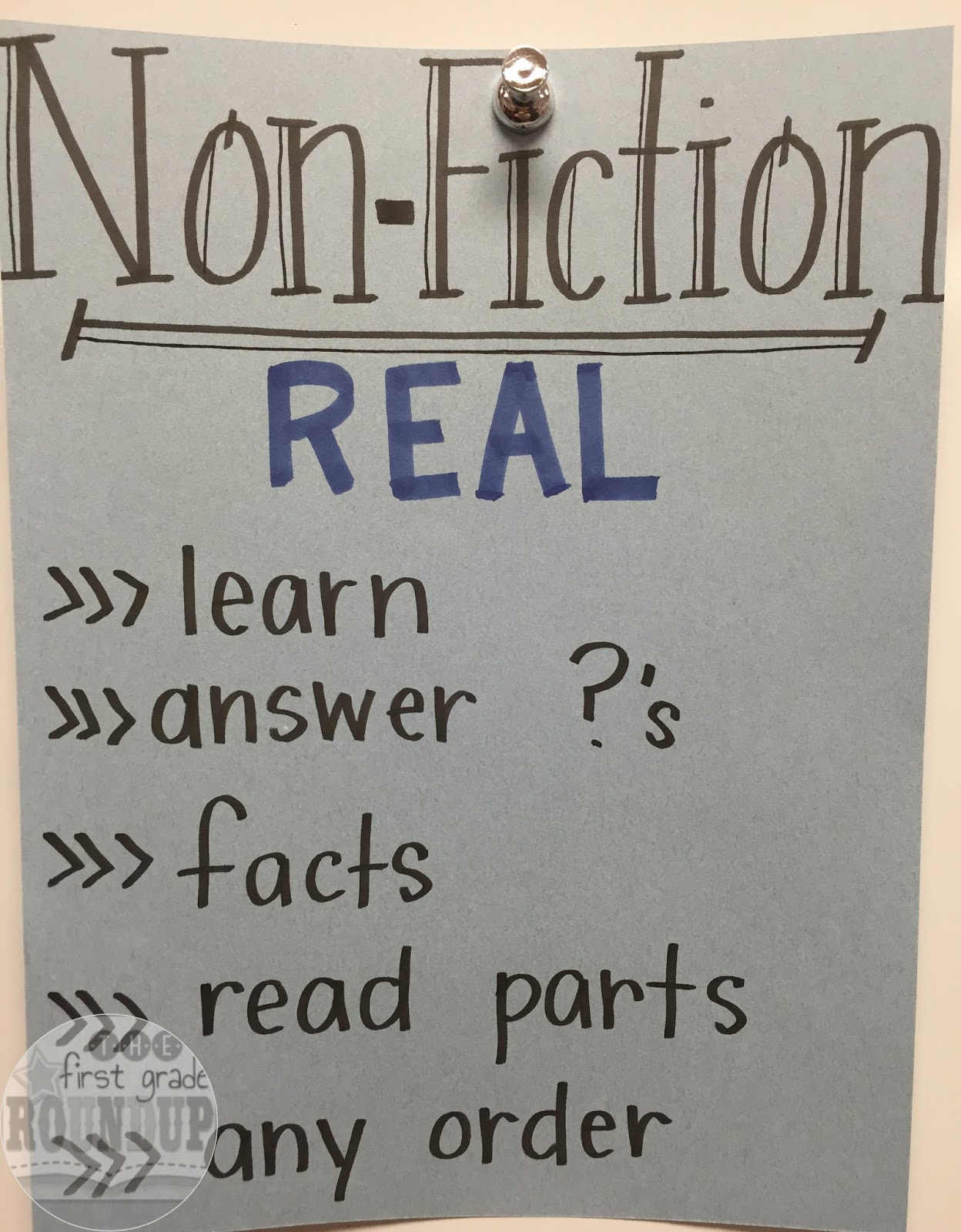 using non fiction features in our writing firstgraderoundup