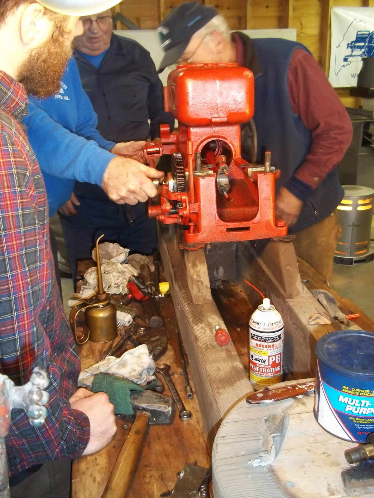 Antique Engine Repair & Maintenance Class