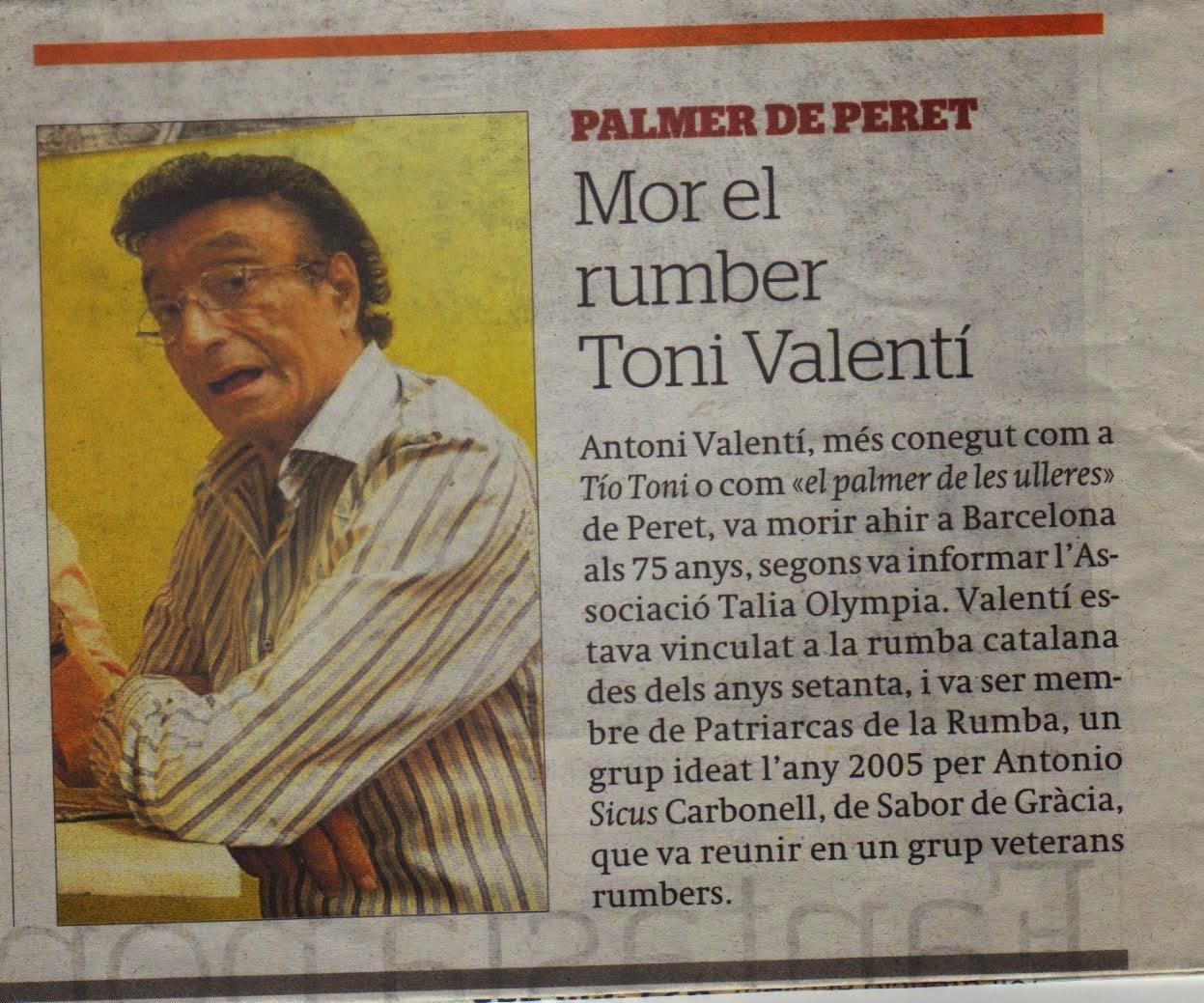 Tio Toni El Periodico