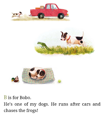 D is for Duck Calls sample page