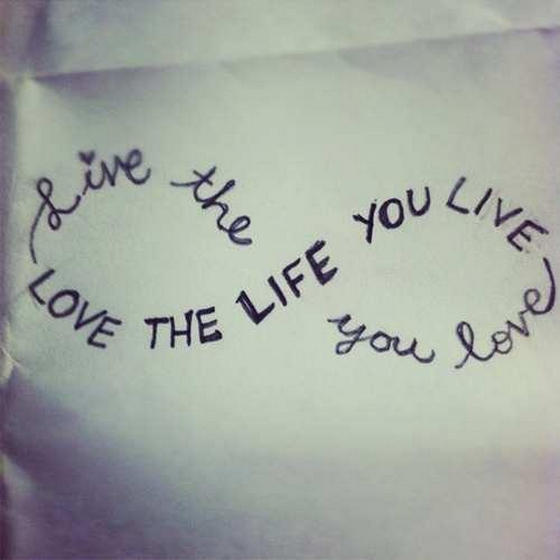 Live a life you love journal ideas