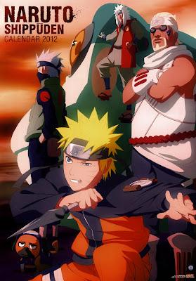 Naruto Calendar 2012