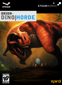 orio dino horde pc game cover ORION Dino Horde iNLAWS