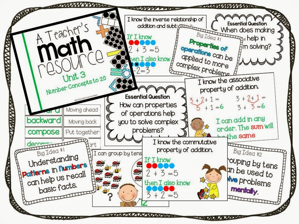 This Week\'s Math: Resources and Freebies! - Tunstall\'s Teaching Tidbits