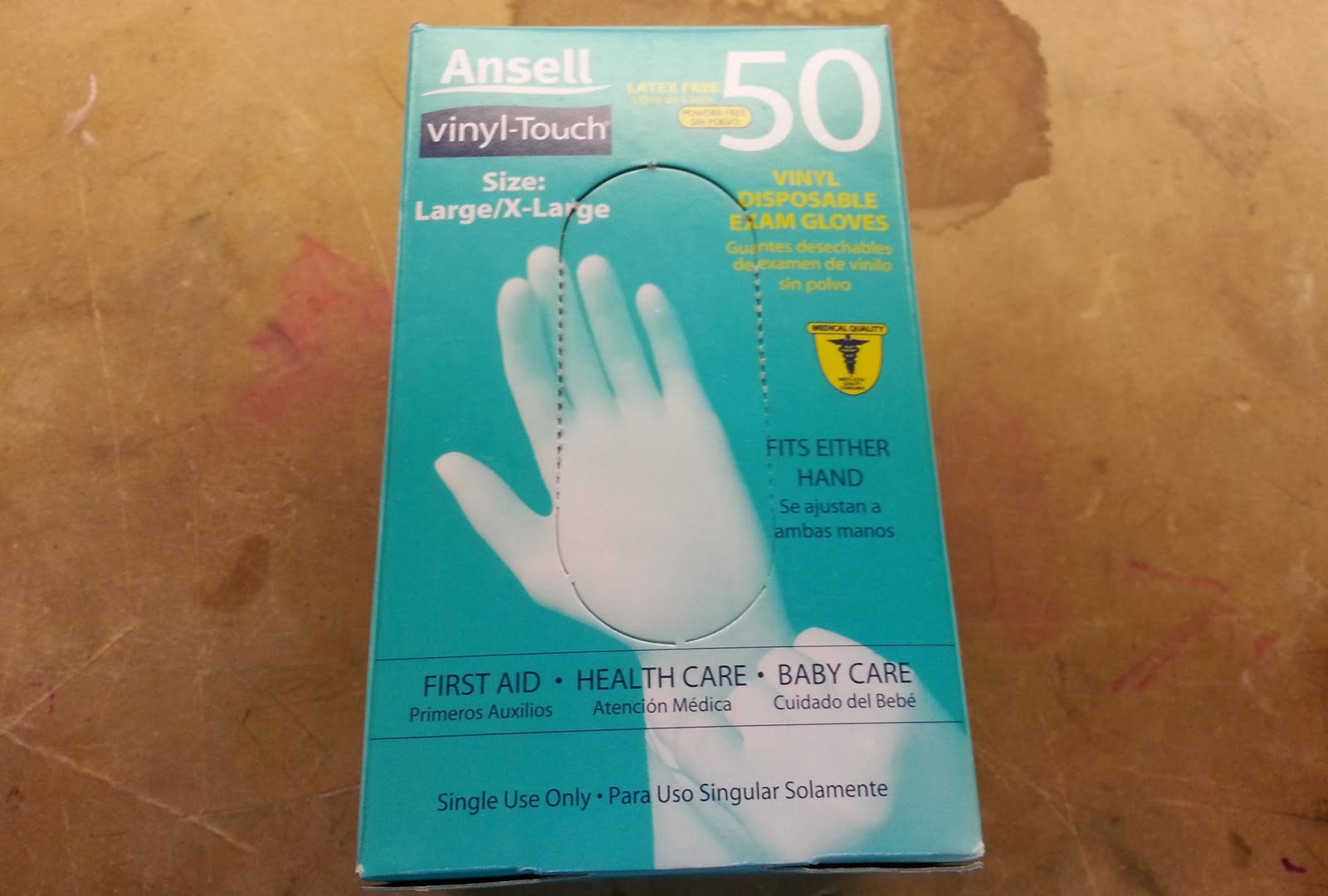 Az diy guy 39 s projects quick tip disposable gloves for Diy plastic gloves