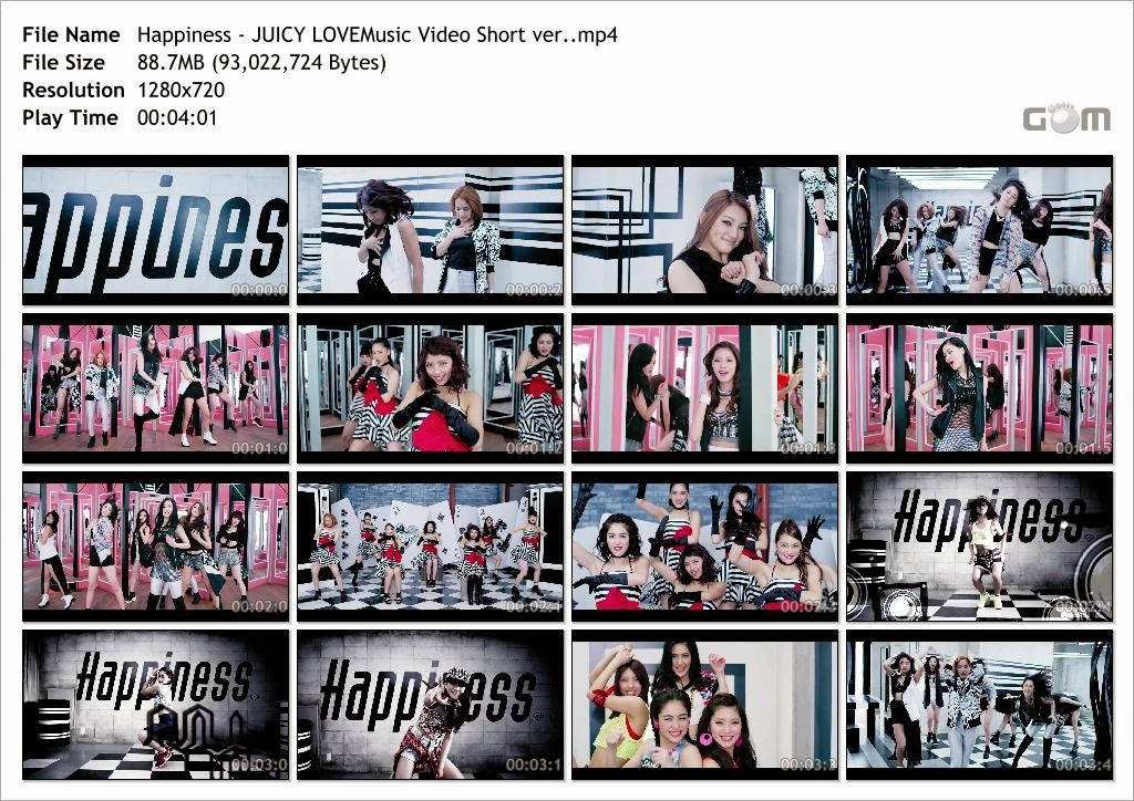 [PV] Happiness - JUICY LOVE -Short Version- [2014.05.28] Happiness+-+JUICY+LOVEMusic+Video+Short+ver._Snapshot