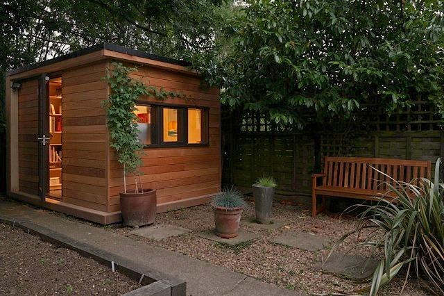 Backyard tiny house design ideas for Tiny backyard houses