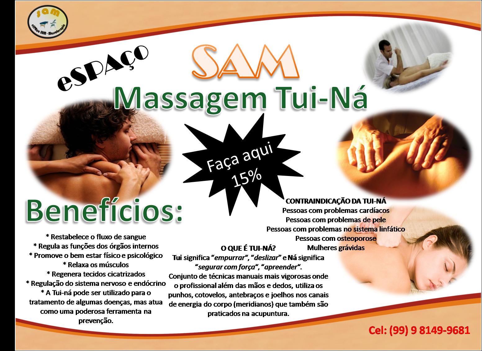 Marque já uma massagem Tui-NÁ