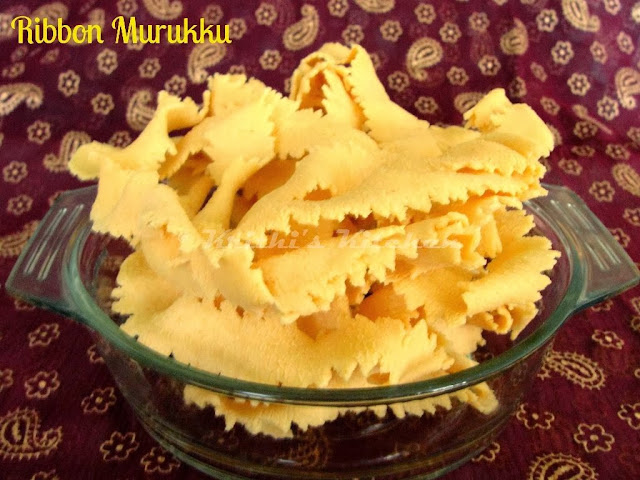 Ribbon Murukku / Ottu Pakoda | Indian Festival Recipes