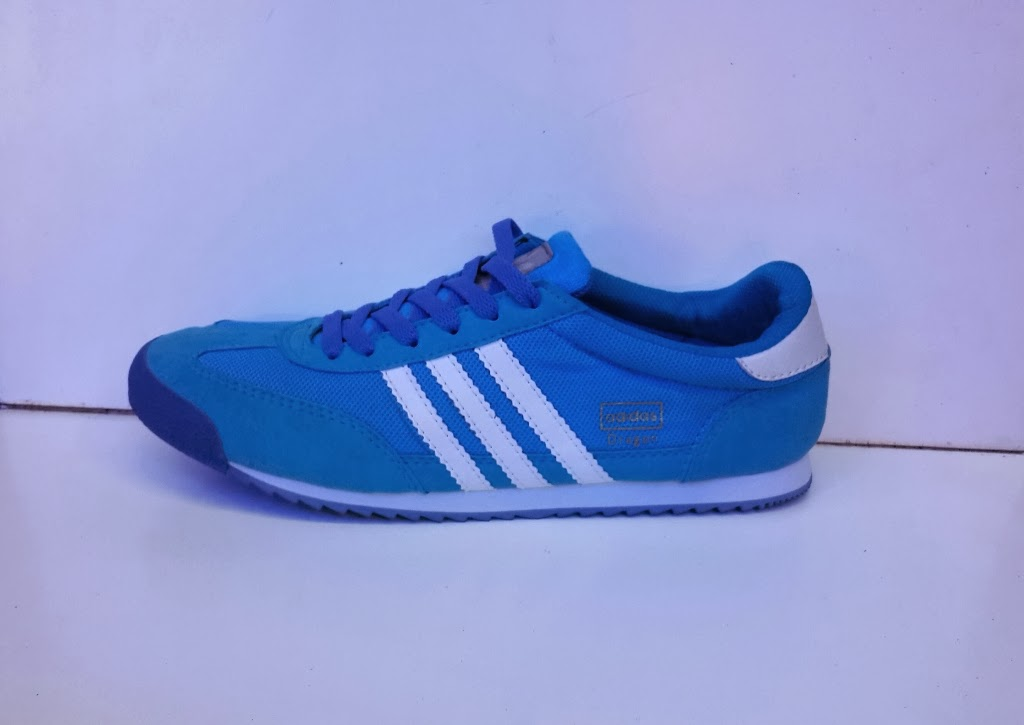 sepatu Adidas Dragon biru murah